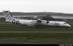 Flybe Bombardier Dash-8 Q402 G-JECL @ Isle of Man Airport (EGNS/IOM) (Joshua_Risker) Tags: isle man egns iom airport plane aviation avgeek ronaldsway flybe bombardier dash dash8 q400 q402 dh8d gjecl