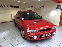 IMG_0319 (deeelux) Tags: red subaru impreza wagon 2000 turbo uk spec 1997 r981gfw