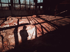 IMG_20190308_160810 (Âme inconsolable) Tags: abandoned rust destroyed damaged factory abandonedfactory industrial landscape spring broken sun man human person