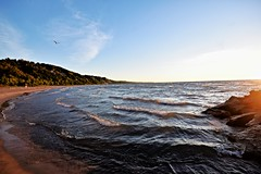 WINDY SHORELINE, BLUFFER'S BEACH, BLUFFER'S PARK, SCARBOROUGH, ONTARIO, CANADA, ACA PHOTO (alexanderrmarkovic) Tags: windyshoreline bluffersbeach blufferspark scarborough ontario canada acaphoto lakeontario