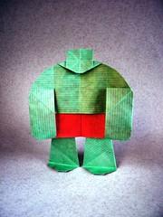 Hulk - Juanfran Carrillo (Rui.Roda) Tags: origami papiroflexia papierfalten hulk juanfran carrillo