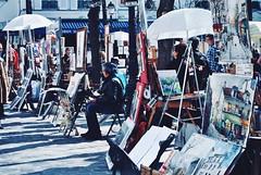 Painters (mttferrarini) Tags: nikond3000 nikon ombre shadows contrast light paint sun france holidays painters paris montmartre