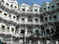 white kolkata (kexi) Tags: kolkata asia india white building architecture samsung wb690 windows balconies february 2017 instantfave