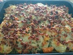 2018-02-25 11.53.40 (Kirayuzu) Tags: essen food selbstgemacht selbstgekocht kartoffelauflauf gemüseauflauf auflauf kartoffeln gemüse speck bacon