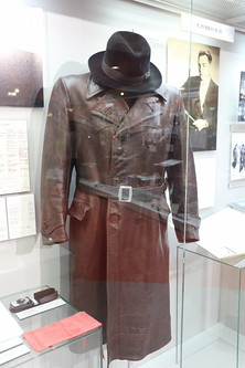Sergei Korolev leather coat