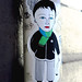 Pasted paper by Fred Le Chevalier [Paris 1er]