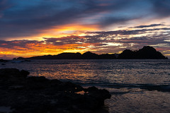 Private sunset (remote bay wild camping) (feisas) Tags: indonesia water ocean sumatra nature landscape travel adventure traveller alam bagus fullframe sonya7 colorful colors light