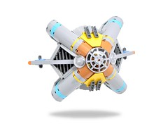 Shield-Breaker Multitool (SBM) (Inthert) Tags: space jam lego moc ship fighter tool transform play feature open function shield breaker