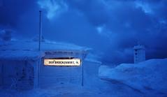 Der Brockenwirt (snorpey) Tags: winter cold blue tavern clouds snow ice