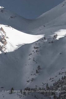 Andorra winter landscape: Ordino, Vall nord, Andorra. Altitude 2000+ collection.