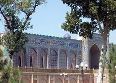 Khudayar Khan Palace (LeelooDallas) Tags: asia uzbekistan khudayar khan palace kokand tile frescoe wood carving dana iwachow dragoman silk road trip september 2018 overland