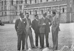 A group of men (vintage ladies) Tags: vintage blackandwhite photograph photo man male men suit smoking