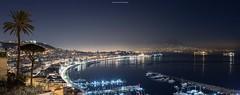night gulf (luigi ricchezza) Tags: canon caracciolo lungomare napoli night panorama vesuvio