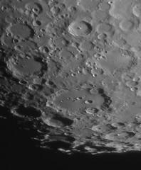 Tycho and Clavius (ukmjk) Tags: meade ar5 nikon nikkor d500 tc14e2 tc14e 2x barlow eq6 staffordshire stoke moon night astro astronomy clavius tycho pipp registax