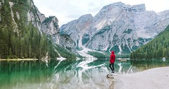 Adventure amazing beauty - Credit to https://homegets.com/ (davidstewartgets) Tags: adventure amazing beauty dolomites hike italy lake landscape man mountain peak mountains nature outdoors person recreation reflection rock scenic snow standing tourism travel trees valley water woods