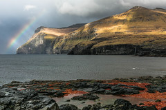 Eiði - Faroe Islands ( fabienne fauré) Tags: faroe islands faroeislands ilesféroé ile mer sea rocher roc canon eos 5d mark iii ef2470mm eiði eidi eysturoy arcenciel rainbow danmark danemark nordana nordenislands
