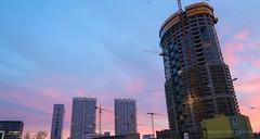 019Feb 25: City Construction in Night (Johan Pipet 2M+ views) Tags: flickr city town mesto bratislava night noc večer evening sky skyline dark skyscraper nivy new high slovakia slovensko capital eu europe cityscape palo bartos bartoš canon g7x markii