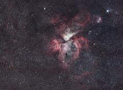 Carina Nebula from Costa Rica (AstroBackyard) Tags: astrophotography carina nebula costa rica eta car dslr canon eos 7d mark ii