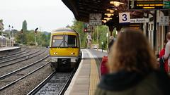Arriving into Leamington Spa (Alec Paton) Tags: railway train station leamingtonspa chilternrailways class 168 168004 platform