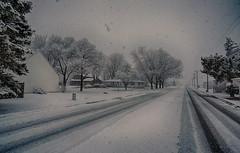 Winter's Last Breath (kendoman26) Tags: snow snowstorm stpatricksday sonyalpha sonya6000 sonyicle6000 sel1628 sonyvclecu1 hdr nikhdrefexpro2 morrisillinois