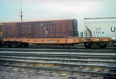 CB&Q MWF 207278 (Chuck Zeiler 48Q) Tags: cbq class mwf 207278 burlington railroad flatcar flat car freight mow cicero train chuckzeiler chz