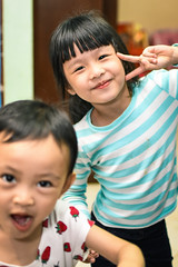 Funny face (Zero'sPhoto) Tags: portrait child cute fun 人像 小孩 adorable