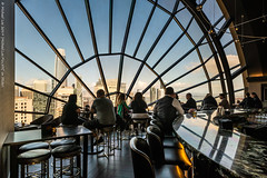 View (20190323-DSC01786-Edit) (Michael.Lee.Pics.NYC) Tags: sanfrancisco hotelview lounge rooftop bar view salesforcetower arch architecture window sony a7rm2 zeissloxia21mmf28