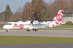 ATR 72-200 - SP-SPE - HAJ - 02.04.2019(2) (Matthias Schichta) Tags: haj hannoverlangenhagen eddv flugzeugbilder planespotting spspe sprintair atr72