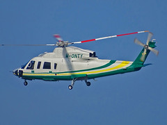 M-ONTY Sikorsky S76 (SteveDHall) Tags: aircraft airport aviation airfield aerodrome helicopter horseracing aintreeracecourse aintree grandnational 2019 generalaviation ga trustair trevorhemmings monty sikorsky s76 sikorskys76 sk76