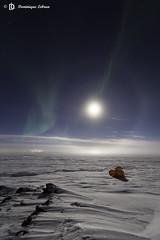 Halo lumineux et aurore boréale (dodo-12-37) Tags: aurore boréale camp expo nunavik ciel étoile halo lumineux