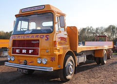 RTS 457 (2) (Nivek.Old.Gold) Tags: 1973 erf aseries flat gardner100 jwrichards haddenham haulage contractors 6522cc cheffins