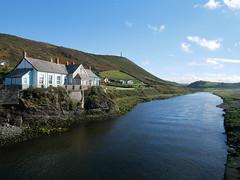 Aberystwyth - looking up the River Ystwyth (Dubris) Tags: wales ceredigion aberystwyth seaside coast river ystwyth