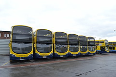 Dublin Bus SG137 152-D-17793 - SG291 172-D-21200 - SG141 152-D-17799 - SG299 172-D-19516 - SG12 142-D-12037 - SG307 172-D-21002 (Will Swain) Tags: dublin phibsboro depot 16th june 2018 bus buses transport travel uk britain vehicle vehicles county country ireland irish city centre south southern capital sg137 152d17793 sg291 172d21200 sg141 152d17799 sg299 172d19516 sg12 142d12037 sg307 172d21002 sg 307 12 299 141 291 137