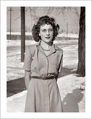 Portrait 060-12 (Steve Given) Tags: socialhistory familyhistory portrait lady woman snow