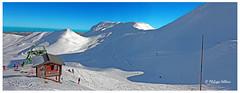Pistes du  Mont Dore , près du Téléphérique © (philippedaniele) Tags: auvergne montagne neige pistes ski crêtes versant remontéemécanique