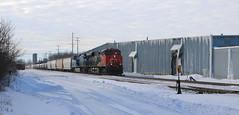 CN 2317, CEFX 1017, Blair, Neenah, 1 Mar 19 (kkaf) Tags: neenah blair leaser cefx cn ac4400cw snow ice