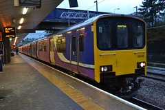 Northern Sprinter 150145 (Will Swain) Tags: station 20th september 2018 greater manchester city centre north west train trains rail railway railways transport travel uk britain vehicle vehicles england english europe salford crescent northern sprinter 150145 class 150 145