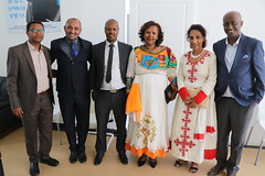 Opening of Michu Reproductive Health clinic in Addis Ababa, Ethiopia, February 2019