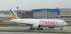 ET-APS Ethiopian Airlines Boeing 777F BRU 150319 (kitmasterbloke) Tags: brussels zaventem bru ebbr aircraft aviation jet belgium outdoor transport