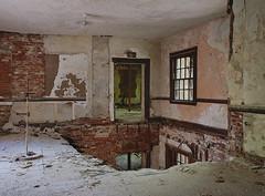 Fall Hazard (jgurbisz) Tags: jgurbisz vacantnewjerseycom abandoned ma massachusetts westboroughstatehospital westborough asylum hospital decay urbanexploration