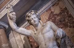 La Morbidezza del Marmo - Bacco Colossale (Claudio De Rossi) Tags: museo galleria borghese bellini bernini canova sculture marmo roma italia