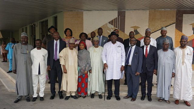 HSDickson Receives approval for the Establishment of BMU from NUC Chairman, Abuja
