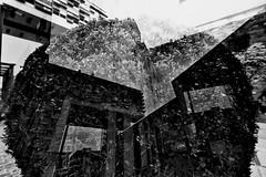 Strategies Against Architecture IX (Tom Putzke) Tags: städte doppelbelichtung köln kranhäuser architektur sw black white cologne rhine nrw deutschland urban mehrfachbelichtung sky himmel clouds wolken fassade fassaden flächen cladding colonia architecture altstadt südstadt brt mipimaward