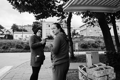 (the cobblestonesman) Tags: nikon d7100 18mm bw streetphotography street poland people candid