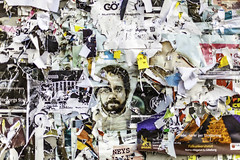 Paper Flyers (Mabry Campbell) Tags: europe gothenburg göteborg scandinavia sweden flyers image paper photo photograph photography sverige wall f18 mabrycampbell february 2012 february292012 201202293405 50mm ¹⁄₂₀₀₀sec 100 ef50mmf14usm