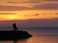 Angler. (Vitaly Giragosov) Tags: sunset sevastopol crimea rf angler рыболов севастополь крым закат