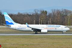 CS-TQU EuroAtlantic Airways Boeing 737-800 (czerwonyr) Tags: cstqu euroatlantic airways boeing 737800 25 frankfurt eddf fra