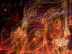 PC204161 (Copy) (pandjt) Tags: orléans ottawa ontario nightphotography winterphotography ledlights christmaslights taffylane icm intentionalcameramovement abstract