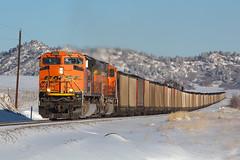 BNSF 9266 Greenland 13 Jan 19 (AK Ween) Tags: bnsf bnsf9266 emd sd70ace greenland colorado jointline train railroad