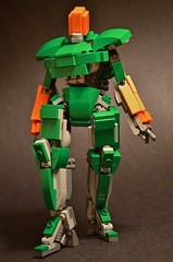 Pugil Striker ([ Chro ]) Tags: lego mecha mech myowncreation moc robot